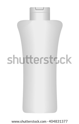 Empty Lotion Bottle  - stock vector