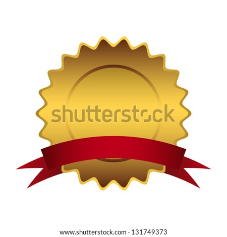 empty sign of quality - stock vector
