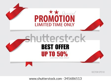 End of year sale, Christmas sale design template. Sale Coupon, voucher, tag. Vector illustration. - stock vector