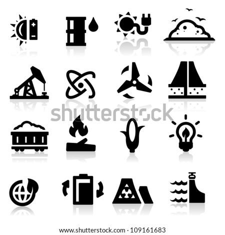 Energy icon - stock vector