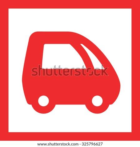 Energy-saving vehicles - stock vector