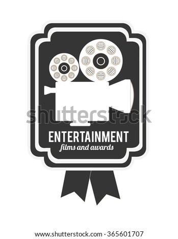 entertainment concept design  - stock vector
