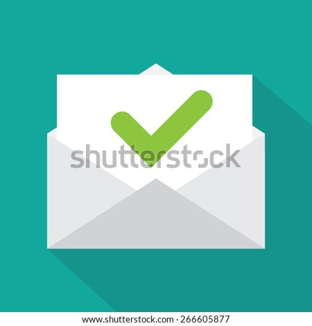 Envelope icon  - stock vector