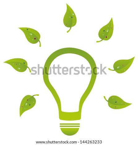 Environment Friendly Energy - stock vector