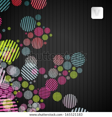 eps, abstract background - stock vector