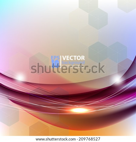 eps10 Business geometric corporate background - stock vector