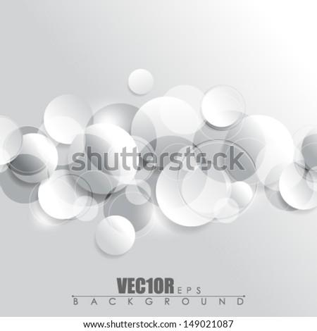 eps10 vector chrome concept geometric elements design - stock vector