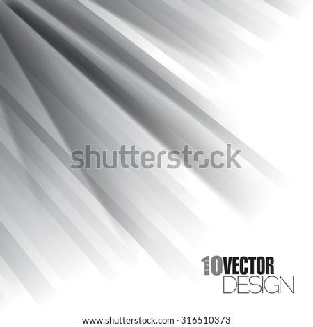 eps10 vector diagonal black and white stripes abstract design - stock vector