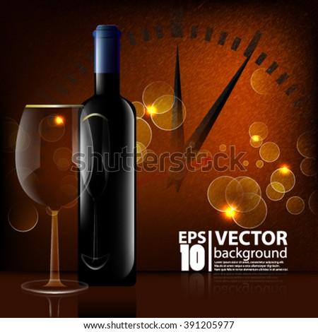 Eps10 Vector elegant celebration any season concept design - stock vector