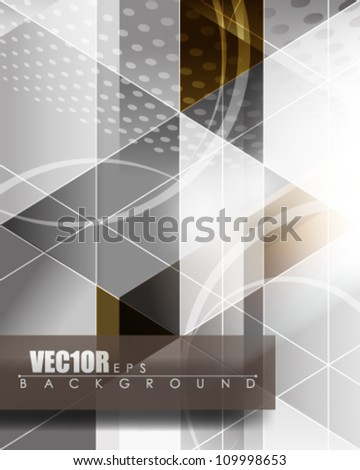 eps10 vector futuristic abstract seamless banner design - stock vector