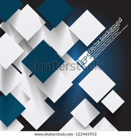 Eps10 Vector illustration Overlapping circles Concept - stock vector