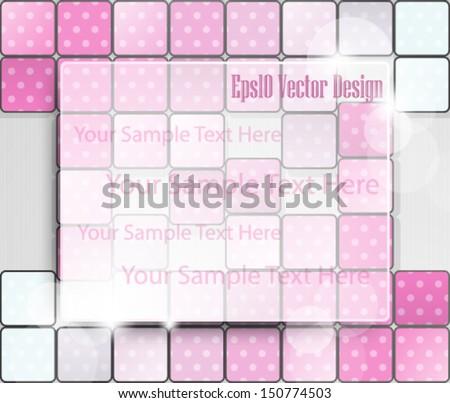 Eps10 Vector Modern Concept Background Design - stock vector