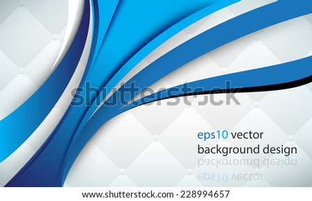 eps10 vector overlapping thick lines elements soft cushion pillow modern business background - stock vector