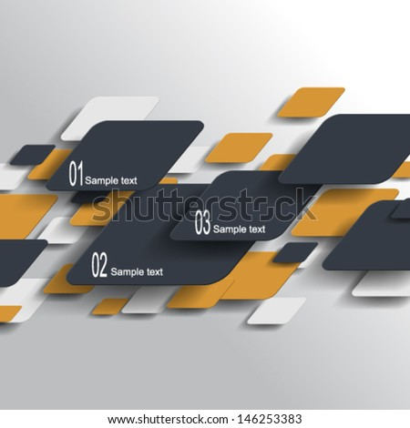 eps10 vector technology elements design - stock vector