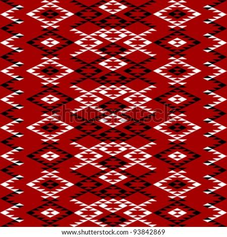 Ethnic texture design - stock vector