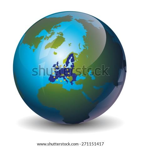 Europe Union - stock vector