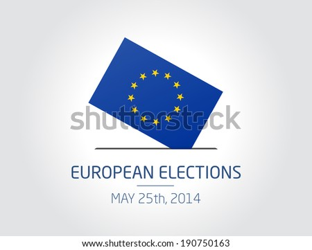 European Elections - stock vector