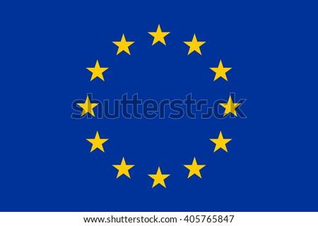 European union flag.  European union flag drawing. European union flag JPG. European union flag JPEG. European union flag template. European union flag EPS. European union Flag vector.  - stock vector
