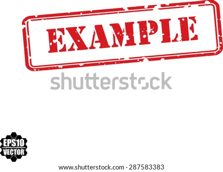 Example Stamp Stock Photos, Images, & Pictures | Shutterstock
