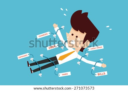 expenses  - stock vector