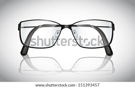 Eyeglasses - stock vector