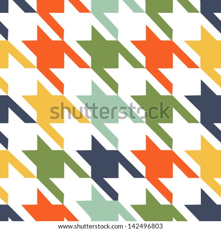 fabric seamless background - stock vector