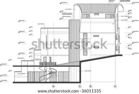 Architectural Facades Drawings Facade Drawing