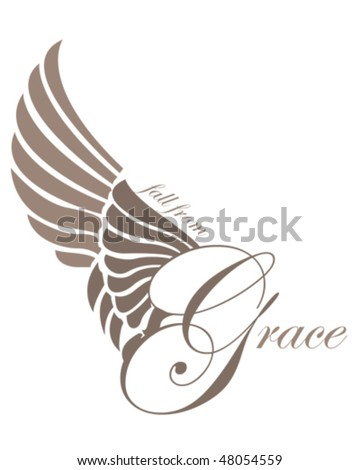 Fall From Grace - stock vector
