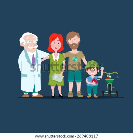 Family Health - stock vector
