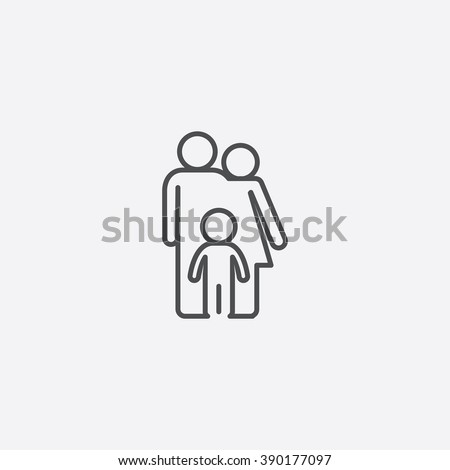 family Icon, family Icon Vector, family Icon Art, family Icon eps, family Icon Image, family Icon logo, family Icon Sign, family icon Flat, family Icon design, family icon app, family icon UI - stock vector