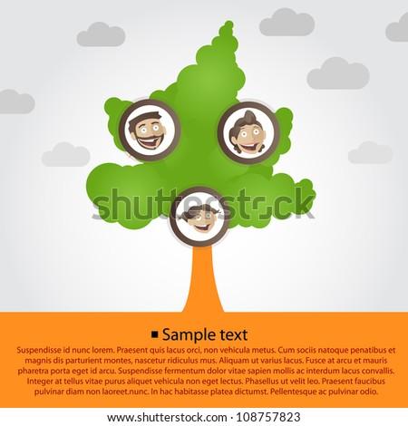 Family Tree Cartoon Images Family Tree With Cartoon