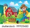 Farm theme image 7 - vector illustration. - stock vector
