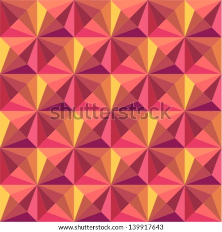 fashion & beauty concept simple pattern, texture, background with soft retro colors - stock vector