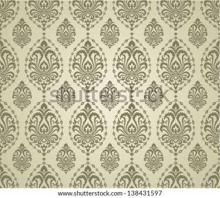 Fashion decor saemless texture. - stock vector