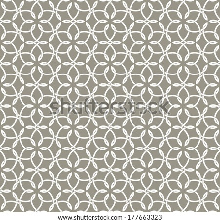 Fashion ornamental seamless pattern. Vector abstract background - stock vector