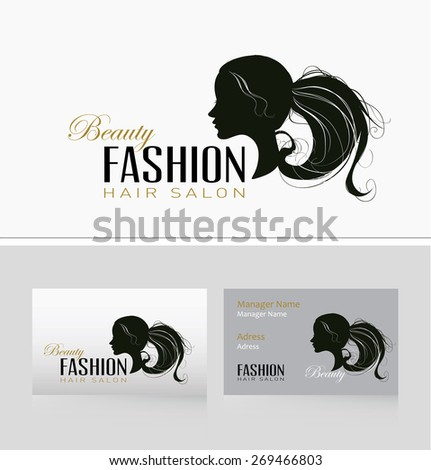 Fashion Woman with  beautiful Hair. - stock vector