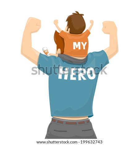essay on my hero my father