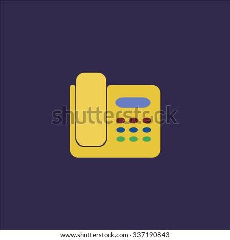 Fax machine. Icon Vector. Icon Picture. Icon Graphic. Icon Art. Icon JPG. Icon JPEG. Icon EPS. Icon AI. Icon FLAT. Icon SIMPLE - stock vector