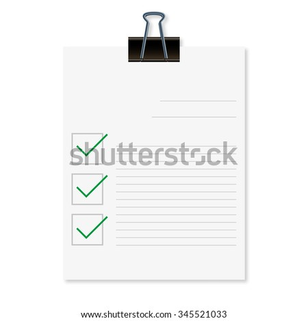 Feedback concept illustration with shadow on  a white background - stock vector