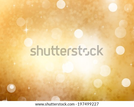 Festive background. Christmas and New Year feast bokeh background with copyspace. EPS 10 vector file included - stock vector