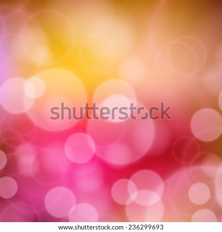 Festive background with de focused lights. Magical background with colorful bokeh. Colorful background with defocused lights - stock vector