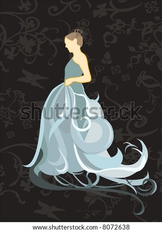 fiance - stock vector