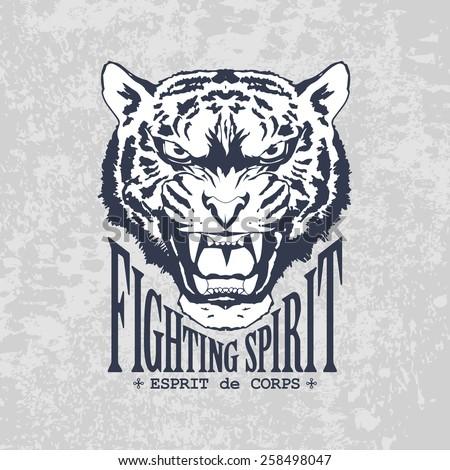Fighting Spirit - stock vector