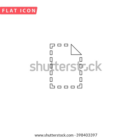 File Icon.  - stock vector