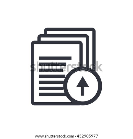 Files Up Icon, Files Up Eps10, Files Up Vector, Files Up Eps, Files Up App, Files Up Jpg, Files Up Web, Files Up Flat, Files Up Art, Files Up Ai, Files Up Icon Path - stock vector