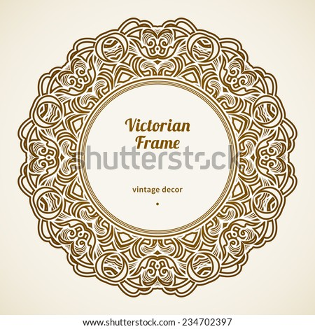 Stock Images similar to ID 123692299 - vintage circle ...
