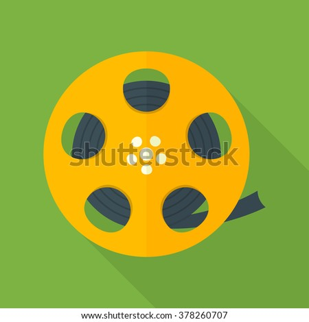Film icon, Film icon eps10, Film icon vector, Film icon eps, Film icon jpg, Film icon picture, Film icon flat, Film icon app, Film icon web, Film icon art, Film icon, Film icon object, Film icon UI - stock vector