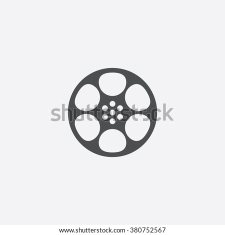 film Icon. film Icon Vector. film Icon Art. film Icon eps. film Icon Image. film Icon logo. film Icon Sign. film Icon Flat. film Icon design. film icon app. film icon UI. film icon web. film icon gray - stock vector