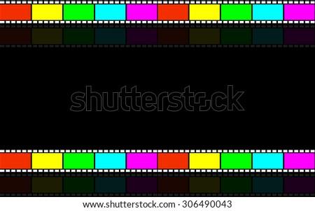 Film strip - stock vector