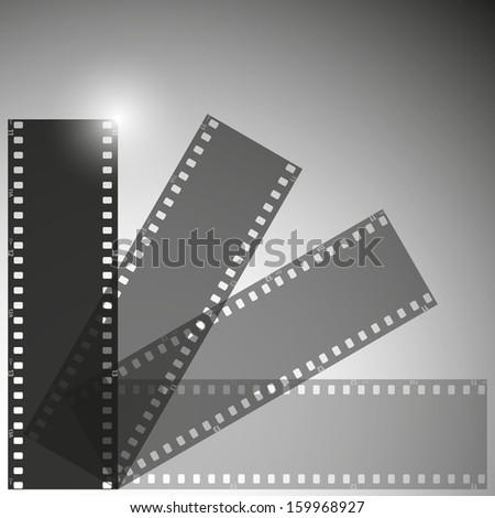 film vector background - stock vector